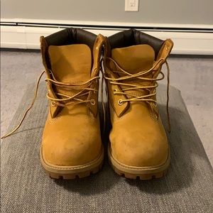 Timberland brown boots size 6.5 men's